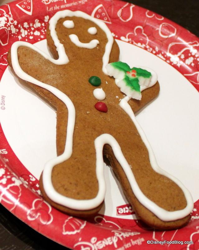 Review Christmas Cookies At Magic Kingdom The Disney Food Blog