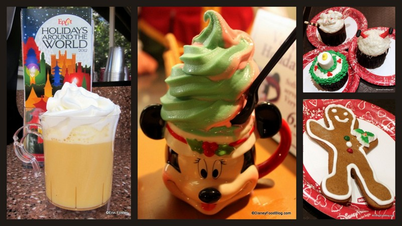 Holiday Swirl Ice Cream The Disney Food Blog