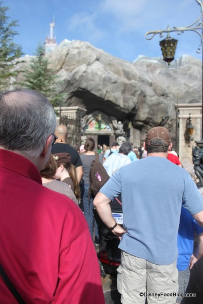 Lunch Line at Be Our Guest Restaurant