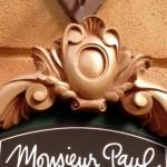 News! Monsieur Paul Menu in Epcot's France