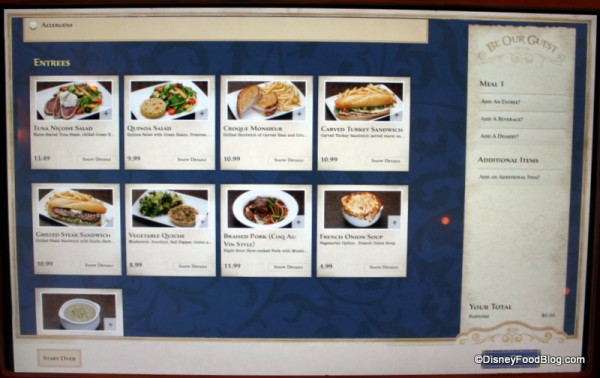 Review Be Our Guest Restaurant Lunch The Disney Food Blog