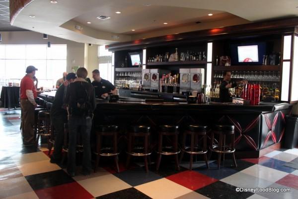Upstairs Bar in Splitsville Orlando