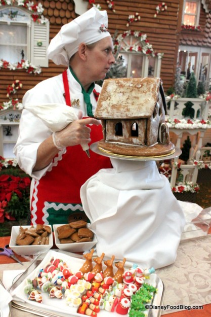 2012 Gingerbread House Demo