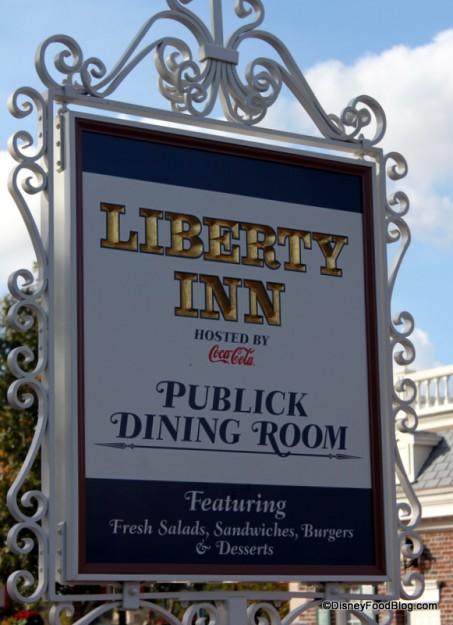 Liberty Inn sign