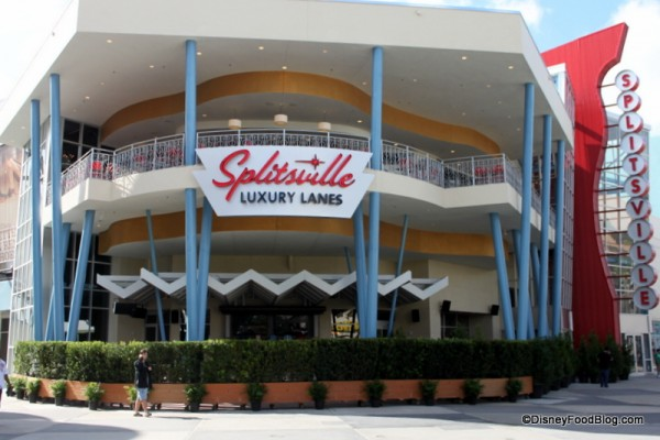 Splitsville in Disney Springs West Side