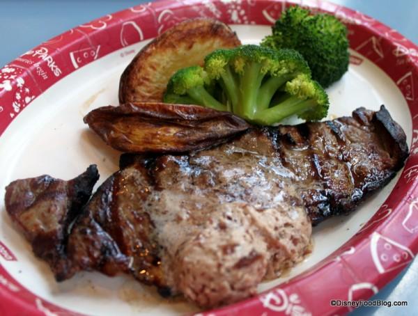 New York Strip Steak Meal
