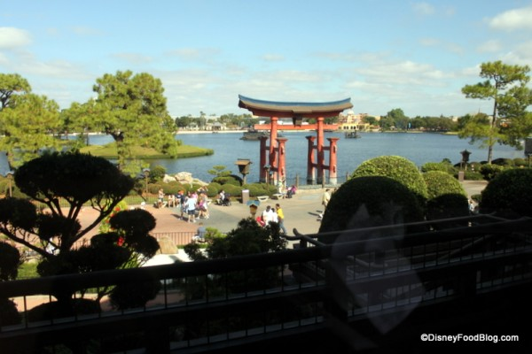View of World Showcase Lagoon