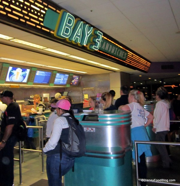 Ordering Area at Cosmic Rays -- Bay 3