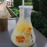 "Fun Find: Phineas and Ferb Treats at Epcot (""The Doofenslurper!!"")"
