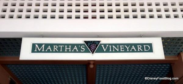 Martha's Vineyard Sign