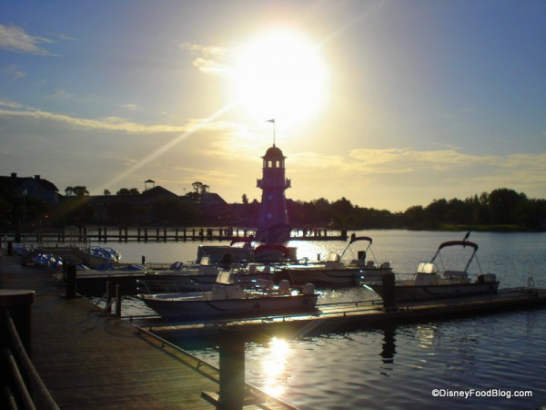 Sunrise at Disney World!