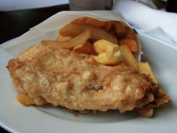 Fish and Chips from Raglan Road