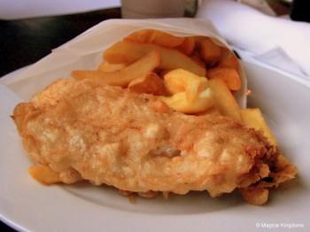 Fish and Chips at Raglan Road