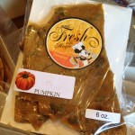 Dining in Disneyland: Seasonal Pumpkin Spice Brittle