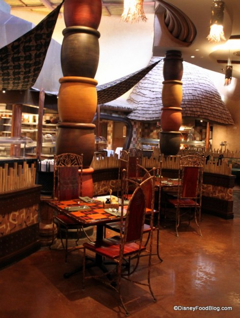 Boma Tables and Buffet