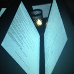 New! Le Cellier Light-Up Menus in Disney World!