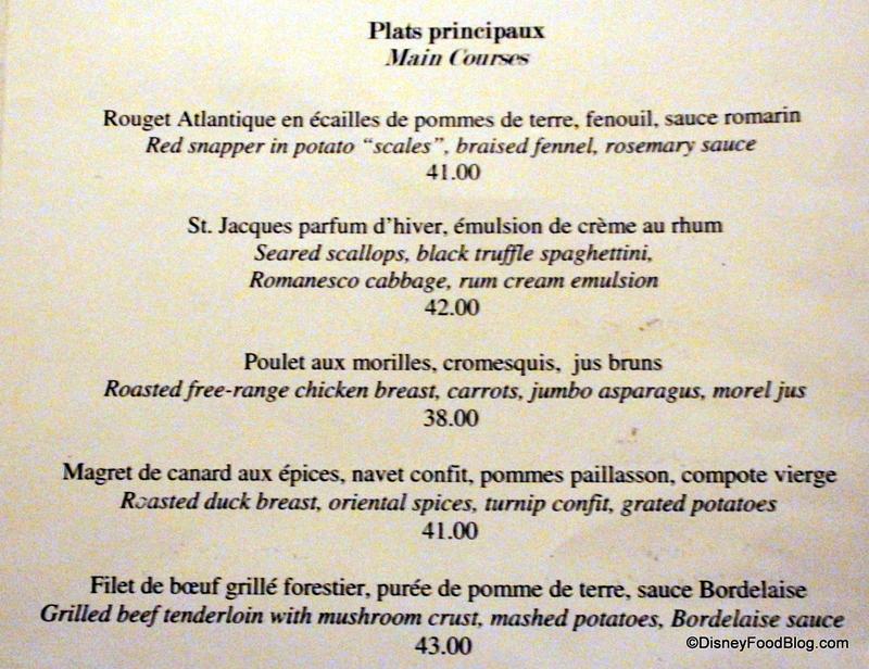 Review Monsieur Paul In Epcot S France Pavilion