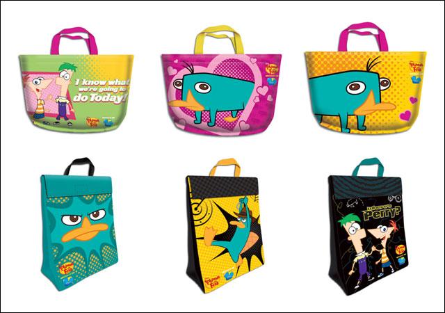 Disney Phineas und Ferb Lunch Bag