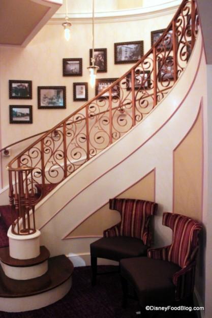Stairway Leading to Monsieur Paul