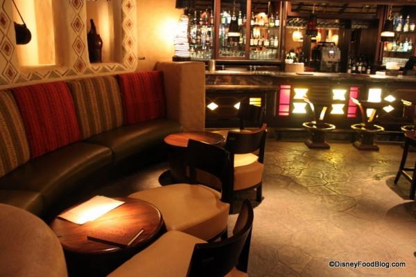 Bar area Sanaa