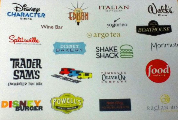 Possible Restaurants for Downtown Disney Orlando!