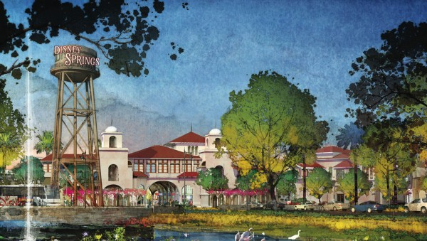 Downtown Disney  is Scheduled to Become Disney Springs Over the Next Three Years