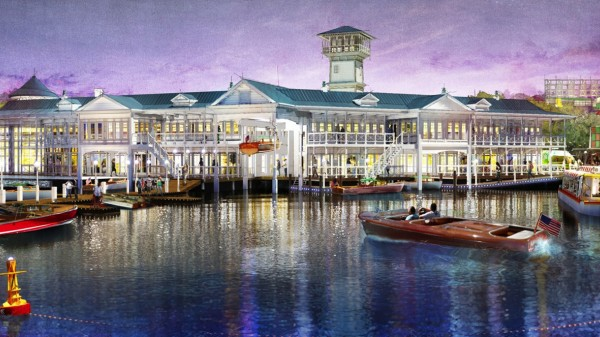 An Artist's Rendering of Disney Springs -- The Landing