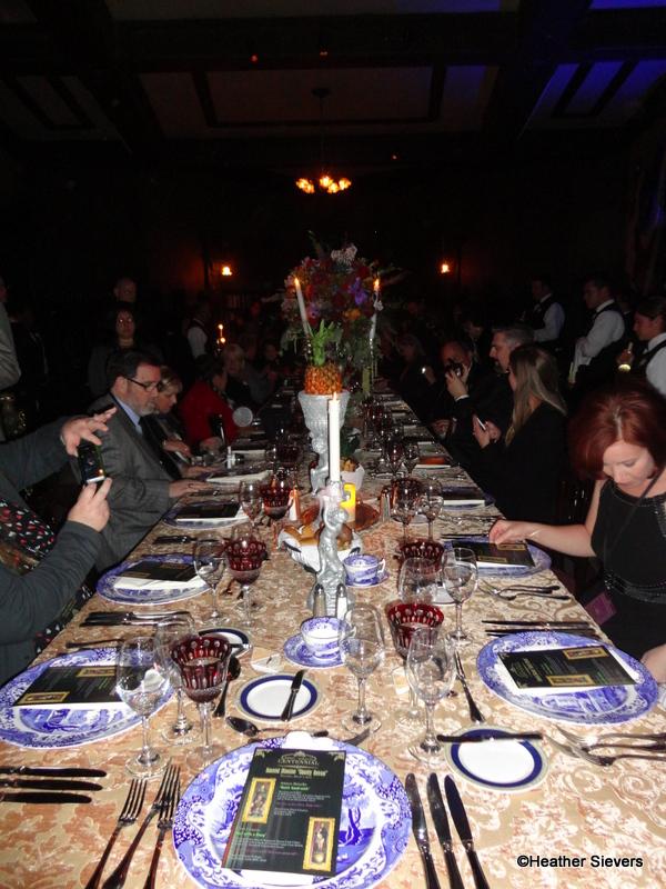 Dining In Disneyland Marc Davis Centennial Dinner Inside
