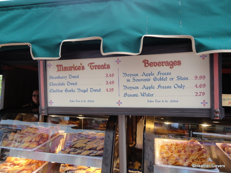 Dining In Disneyland Review Maurice S Treats At The New