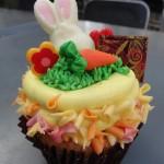 Dining in Disneyland Review: Lavender Vanilla Bean Easter Cupcake