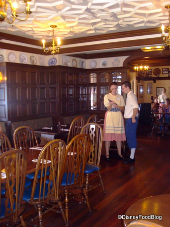 Dining Room Rose and Crown