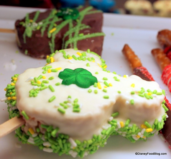 Disney St. Patrick's Day Mickey Rice Krispie Treats