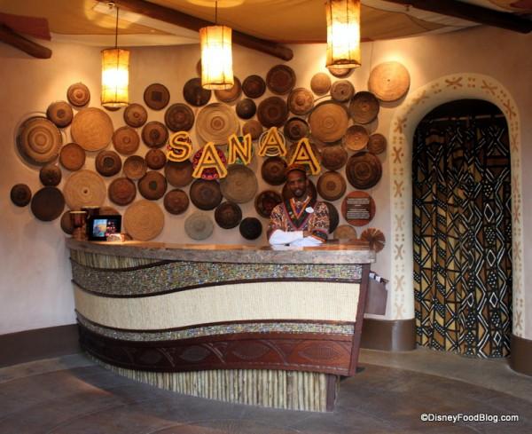 Sanaa check-in
