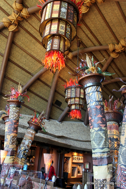 Review Sanaa At Disney World S Animal Kingdom Lodge