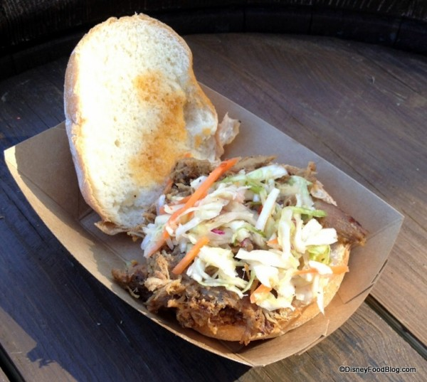 Pulled Pig Slider with Cole Slaw