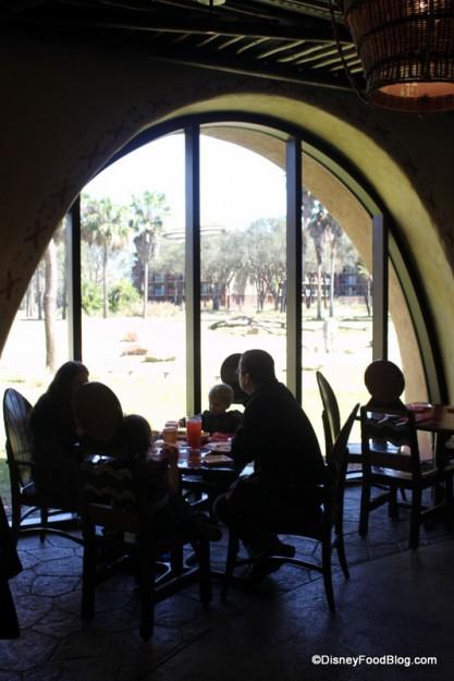 Seating and View Sanaa