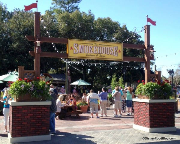 The Smokehouse in the American Adventure Pavilion