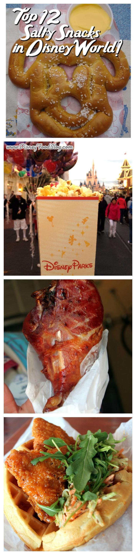 Top 12 Salty Snacks in Walt Disney World