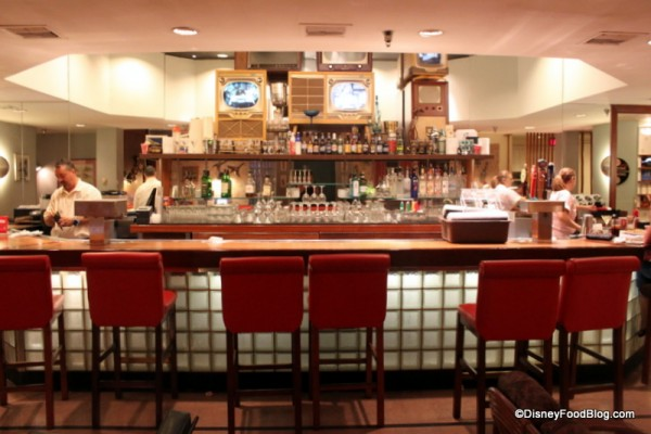 Order from the full menu at 50s Prime Time Cafe when you're at Tune In Lounge in Disney's Hollywood Studios