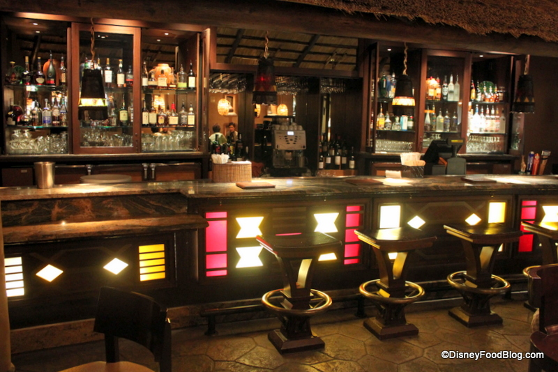 Bar Area At The Warwick Arms Source · Review Sanaa At Disney World S Animal  Kingdom Lodge The Disney
