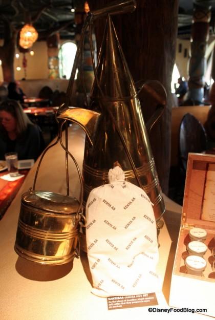 decor element -- zanzibar coffee pot Sanaa