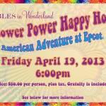 Tables in Wonderland April Event: Flower Power Happy Hour
