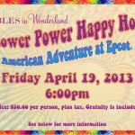 Tables in Wonderland April Event: Flower Power Happy Hour