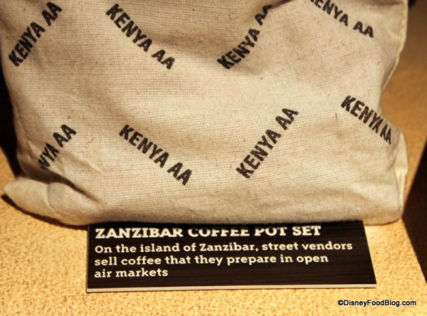 Zanzibar Coffee and Description of Coffee Pot