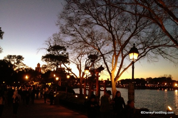 Evening at Epcot is Extra Magical!