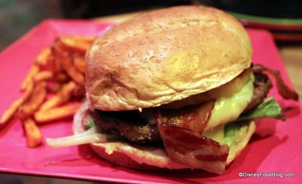Angus Hawaiian Burger