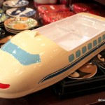 """Spotted! """"Monorail"""" Kids' Plates in Epcot's Japan"""