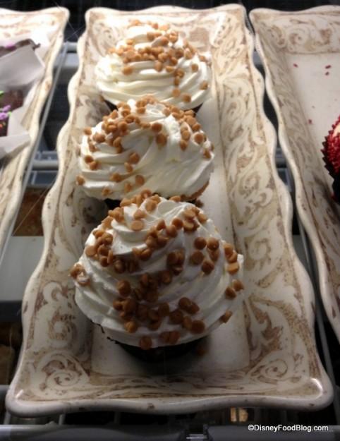 PB&J Cupcake in Bakery Case