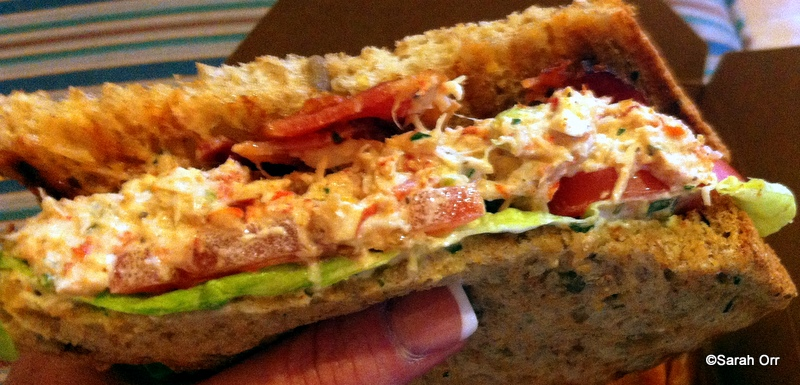 Zakary Pelaccio's Lobster Club Sandwich Recipes — Dishmaps