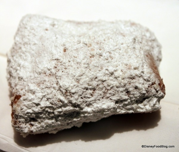 Beignets from Ralph Brennan's Jazz Kitchen Express